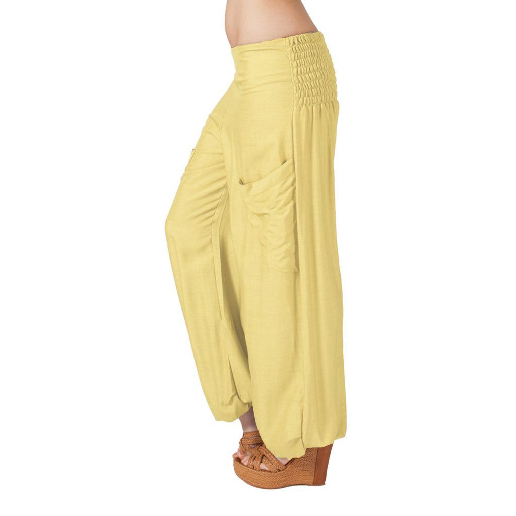 Pantalon crème pour femme fluide et très agréable Cédric 314299