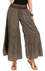Pantalon d'été ample look Bohème et Ethnique Augustin 292647