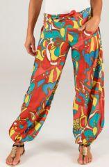 Pantalon d'été Bouffant Ethnique et Coloré Cristino 287054