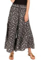 Pantalon d'été gris esprit Bohème et Ethnique Aubin 292588