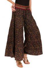 Pantalon d'été look esprit Bohème et Ethnique Aubin 292519