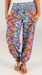 Pantalon d'été Original et Coloré Kannan Bleu 283505