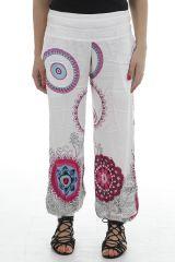 Pantalon d'été pour femme ethnique et agréable Nixon 311884