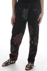 Pantalon d'été pour femme tendance et imprimé Erkan 311744