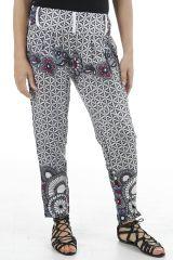 Pantalon d'été ultra féminin agréable et ethnique Brice 310923