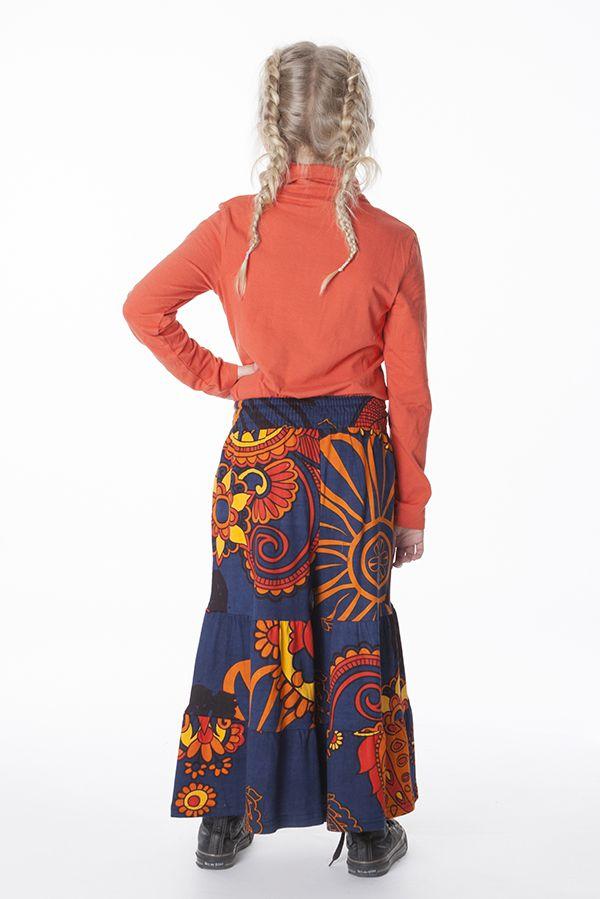 Pantalon enfant fille 3-10 ans large avec imprimés Lorie 286522