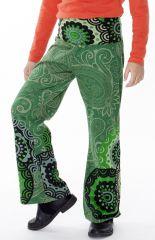 Pantalon enfant fille 3-10ans imprimés et confortable Lys 286953
