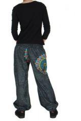 Pantalon ethnique noir Zélie 268224