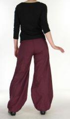 Pantalon ethnique prune Gulika 269956
