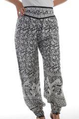 Pantalon fabriqué en Inde Original et Léger pour femme Chalima Blanc 297757