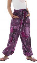 Pantalon fantaisie et décontracté pour enfants avec imprimés Tulsa 294245