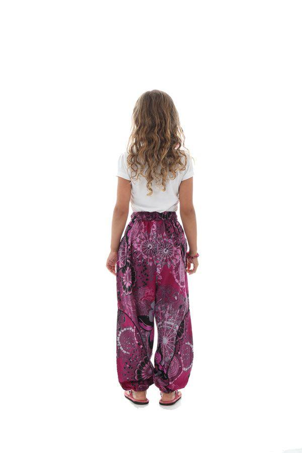 Pantalon fantaisie et décontracté pour enfants avec imprimés Tulsa 294247