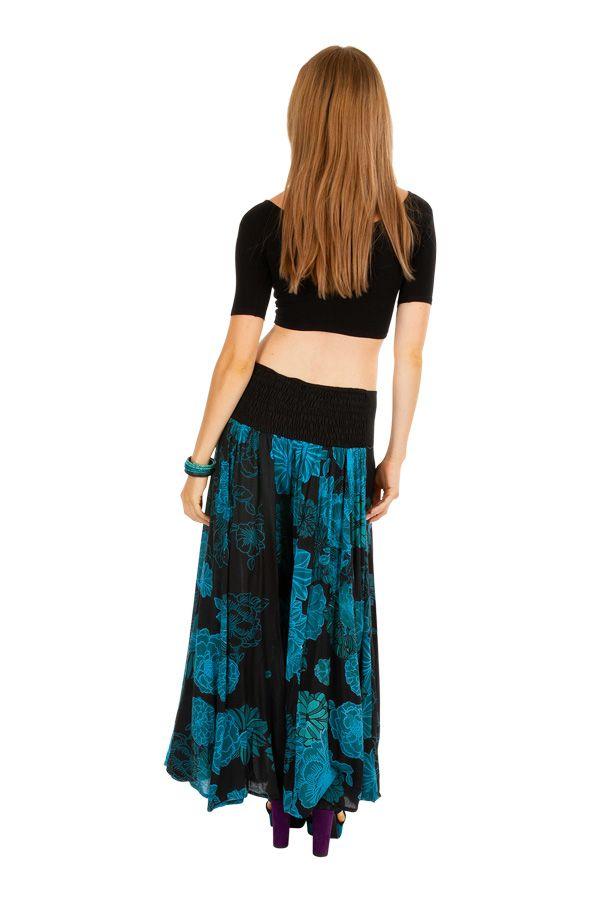 pantalon femme ample original la taille lastiqu e mia. Black Bedroom Furniture Sets. Home Design Ideas