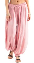 Pantalon femme bouffant Original et Baba-Cool Gilian Vieux Rose 282244