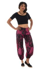Pantalon femme coloré pour l'été en coton Lilou 288868