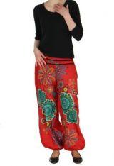 Pantalon femme de plage rouge Ginny 267605