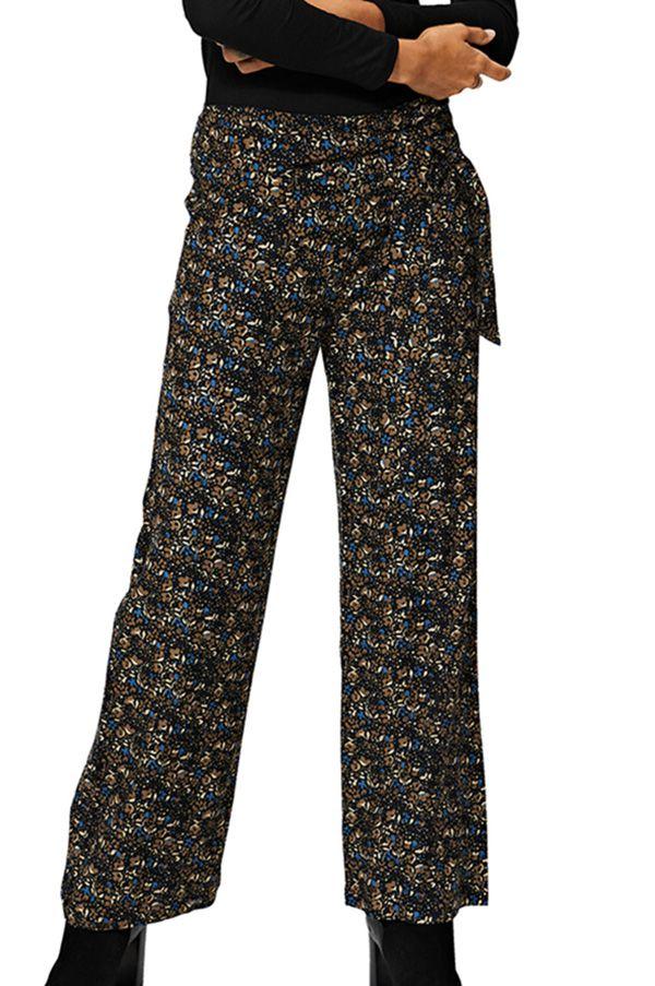 Pantalon femme droit taille élastique bohème Callie