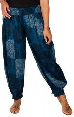 Pantalon femme élastiqué en coton gradne taille Etane 306651