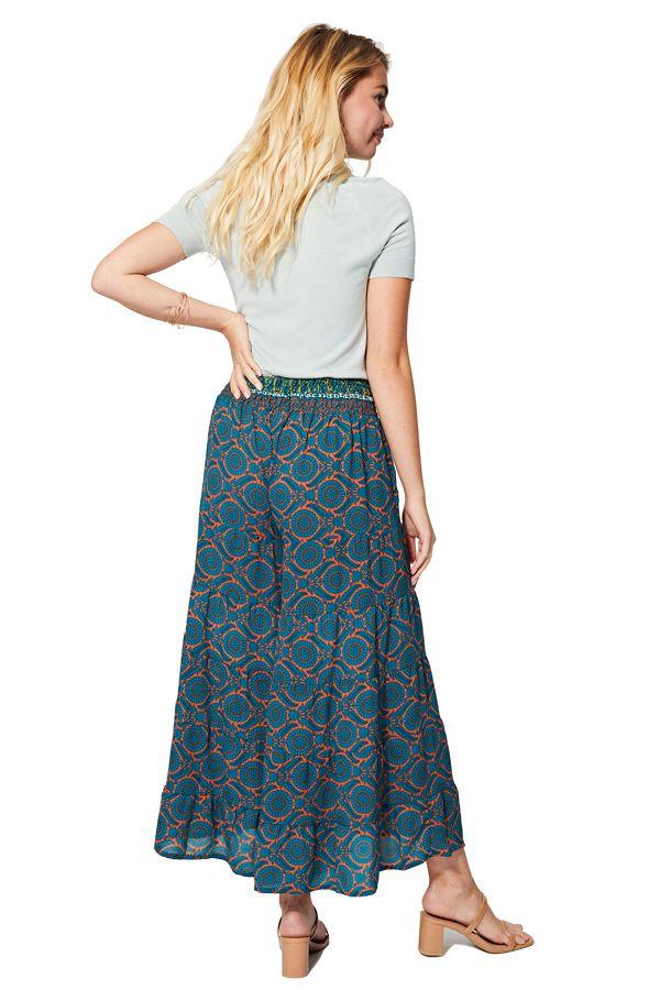 Pantalon femme élastique facile à mettre ethnique chic Miwak