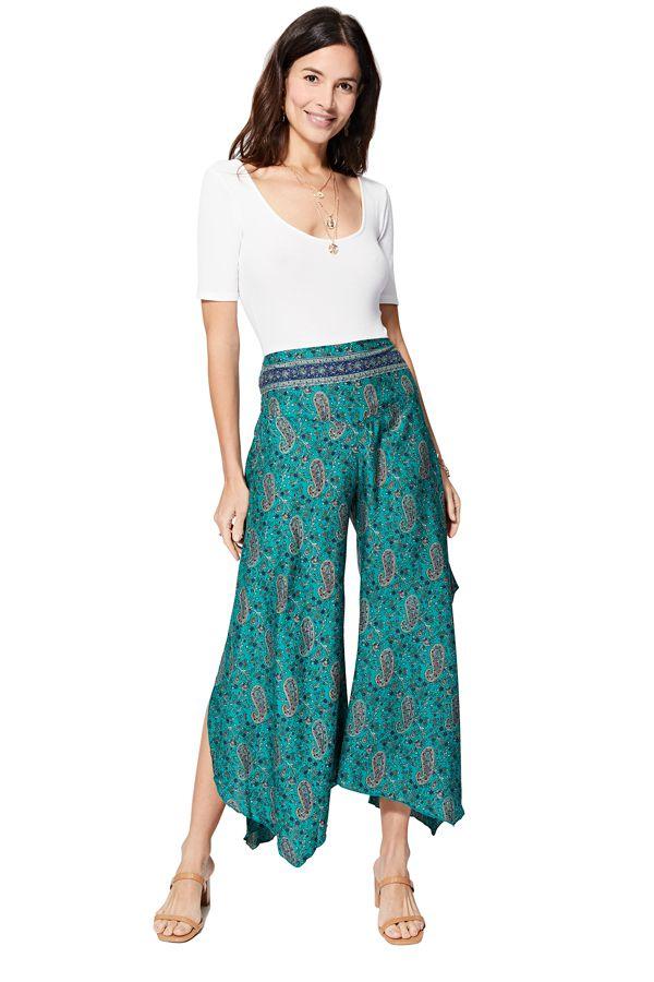 Pantalon femme élastique fluide pas cher décontracté Namika