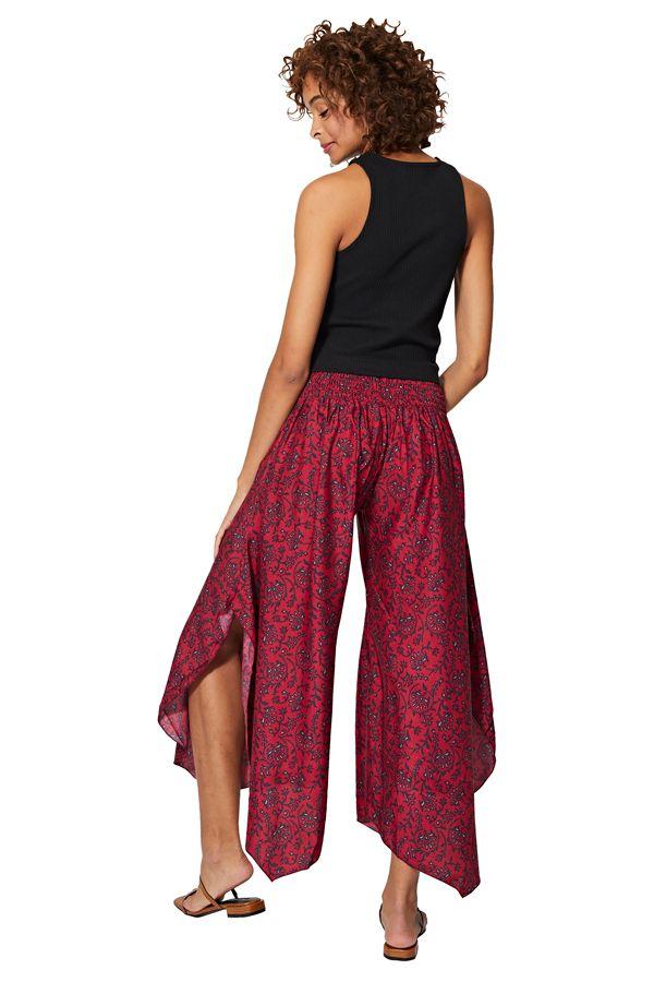 Pantalon femme élastique original fluide chic pas cher Namik