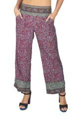 Pantalon femme été large et pas cher Angelo 318411