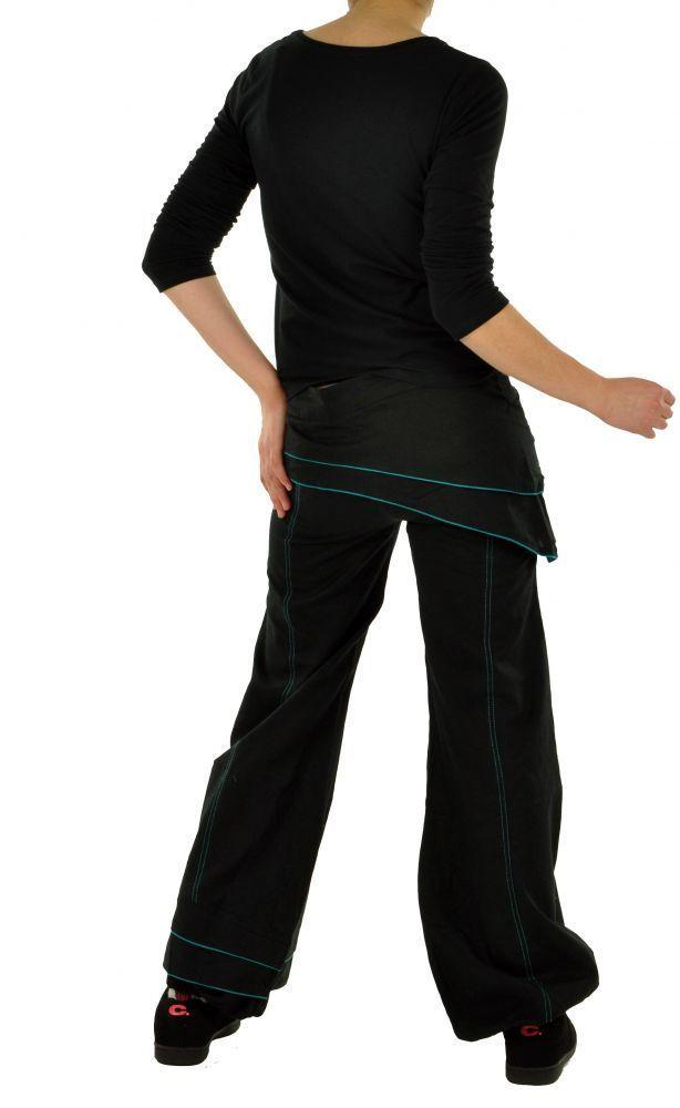 Pantalon femme ethnique hanak noir 255048