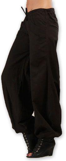 Pantalon femme évasé Original et Pas cher Sofi Noir 274511