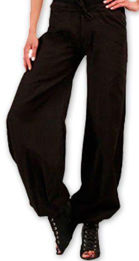 Pantalon femme évasé Original et Pas cher Sofi Noir 274512