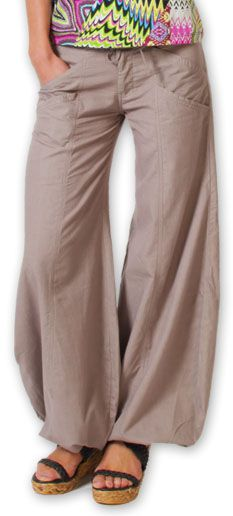 Pantalon femme évasé Original et Pas cher Sofi Taupe 274516