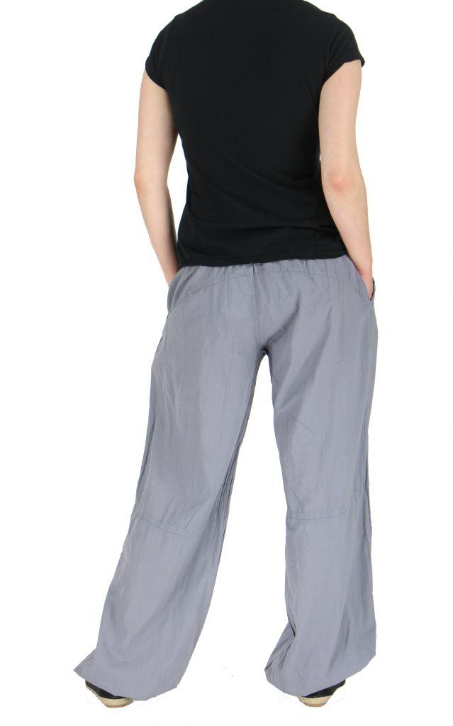 Pantalon femme fluide harry gris 261899
