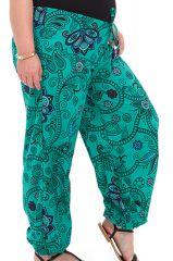 Pantalon Femme Grande taille Ethnique et Original Martin Vert 283758