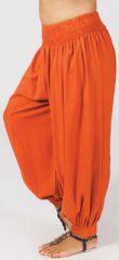 Pantalon Femme Grande taille type Aladin Edena Rouille 274805