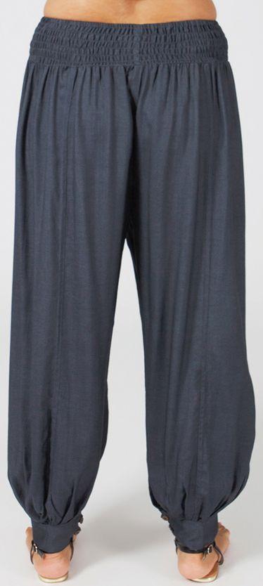 Pantalon Femme Gris Grande taille type Aladin Edena 274808