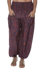 Pantalon femme indien large et original Bollywood 282825