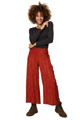 Pantalon femme large et droit taille élastique Presley