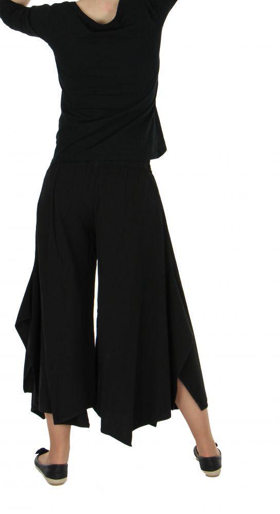 Pantalon femme large et original pike noir 255487