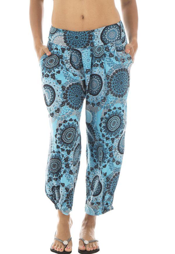 En Mandala Femme Pour Motifs Sia Rayonne L'été Pantalon Fluide vwqZgzEXwx