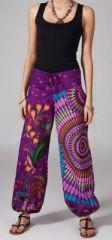 Pantalon femme pas cher ethnique Aurélien 269866