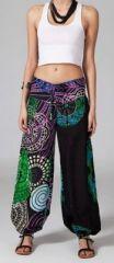 Pantalon femme pas cher ethnique Cyprien