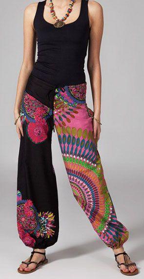 Pantalon femme pas cher ethnique Daoud 269869
