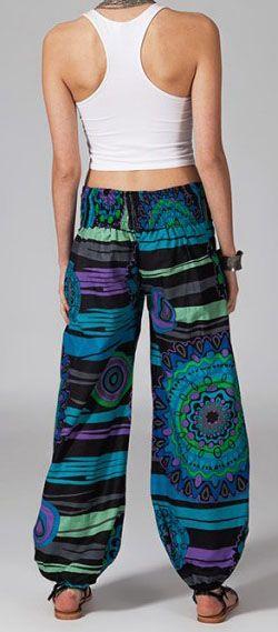 Pantalon femme pas cher ethnique Loucka 269861