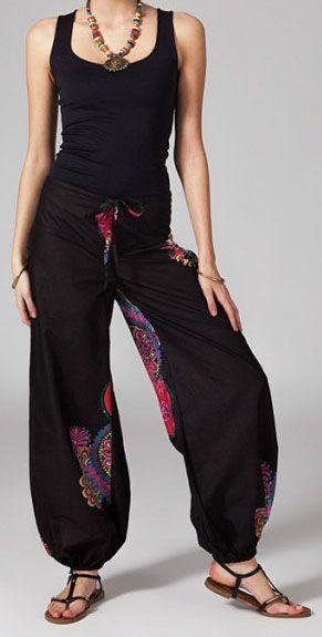 Pantalon femme pas cher ethnique Primael 269853