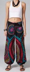 Pantalon femme pas cher imprimé Hugo 269880