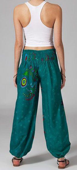 Pantalon femme pas cher imprimé Loic 269894
