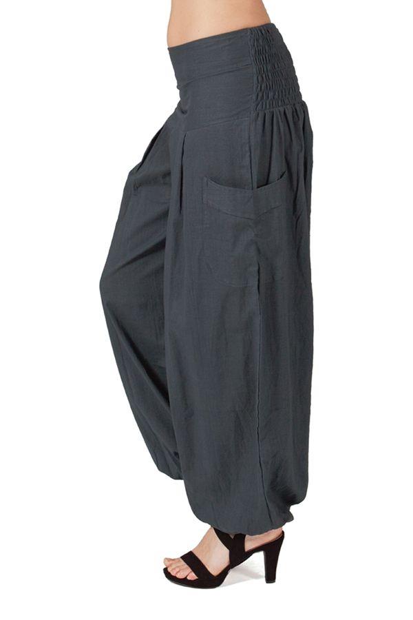Pantalon Femme pour Détente ou Yoga Audric Gris 282254