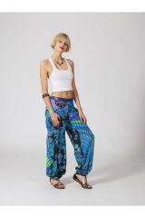 Pantalon Femme pour l\'été à la plage en coton léger Myru