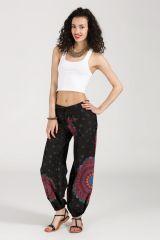 Pantalon Femme pour l'été avec des imprimés colorés Dany 315494