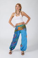 Pantalon Femme pour l\'été coloré ample et fluide Aurélie