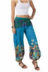 Pantalon Femme pour l\'été coloré en coton Naomie